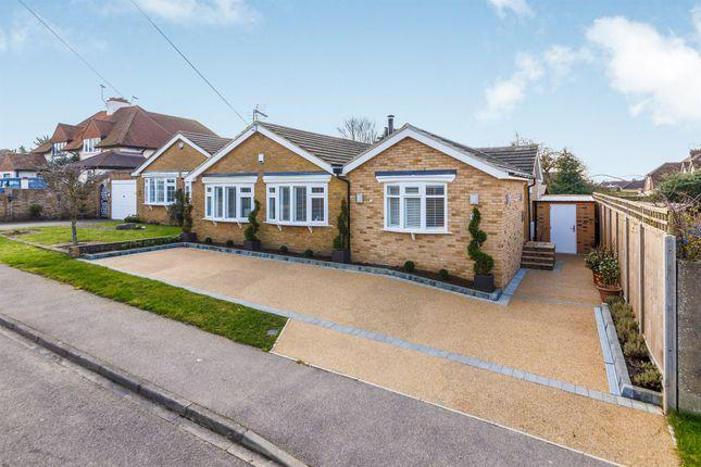 Thumbnail Semi-detached bungalow for sale in The Rise, Park Street, St. Albans