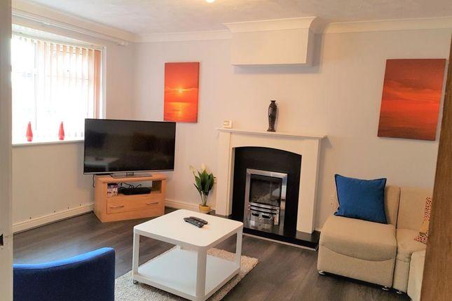 Thumbnail Flat to rent in Penllech Walk Top Valley, Nottingham