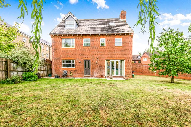 Thumbnail Detached house for sale in Rowan Close, Grange Park, Northampton