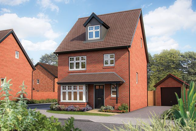 "Thumbnail Semi-detached house for sale in ""The Willow"" at Warwick Road, Kenilworth"