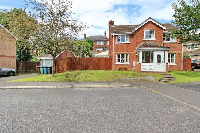 Thumbnail Detached house for sale in Holyrood Close, Prestwich, Manchester
