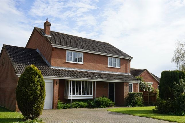 Thumbnail Detached house for sale in Windsor Park, Dereham