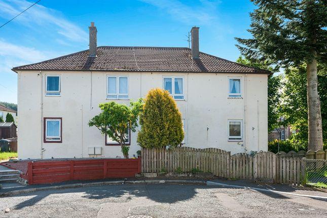 Thumbnail Flat for sale in Castle Croft, Dalmellington, Ayr