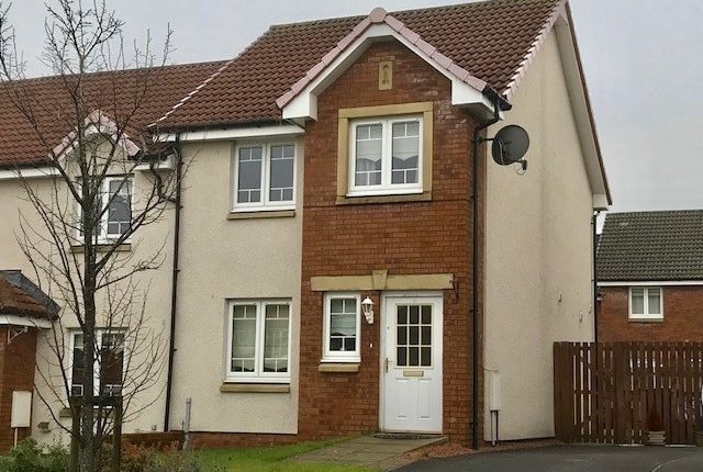 Thumbnail End terrace house for sale in Orchard Crescent, Port Glasgow