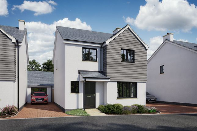 Thumbnail Detached house for sale in Manor Park, Cherry Close, Off Chestnut Drive, Rogiet, Caldicot