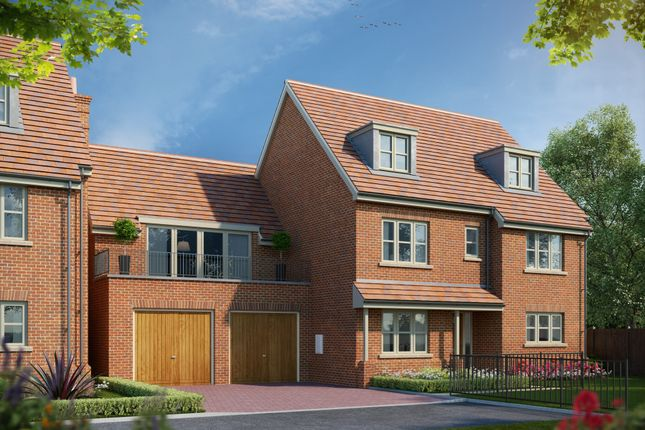 Thumbnail Detached house for sale in Hartley Row Park, Beagley Close, Fleet Road, Hartley Wintney, Hampshire