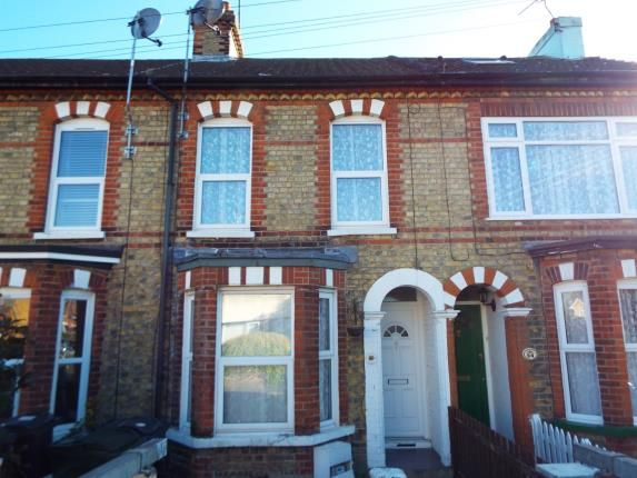 Thumbnail Terraced house for sale in Gladstone Road, Willesborough, Ashford, Kent