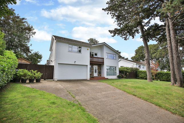 Thumbnail Detached house for sale in Cefn Coed Road, Cyncoed, Cardiff