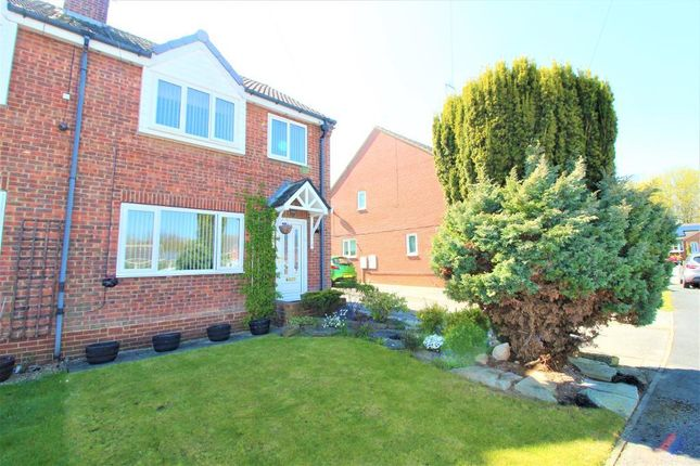 Thumbnail Semi-detached house for sale in Bevan Close, Elsecar, Barnsley, South Yorkshire
