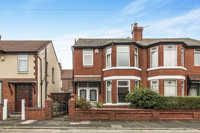 Thumbnail Semi-detached house for sale in Devon Avenue, Burnage, Manchester