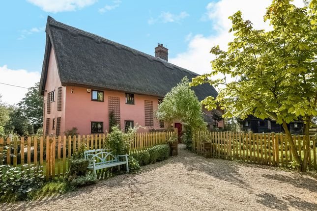 Thumbnail Detached house for sale in Creeting St Mary, Ipswich, Suffolk