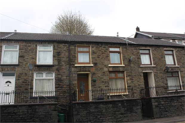 Thumbnail Terraced house to rent in Tyntyla Road, Ystrad, Pentre
