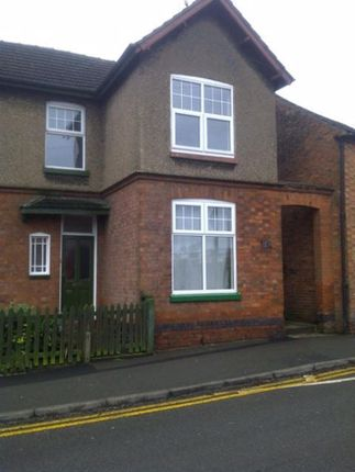 Thumbnail Semi-detached house to rent in Central Street, Countesthorpe, Leicester