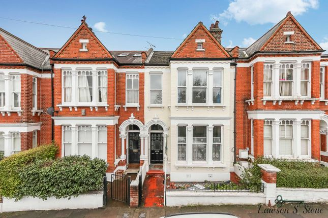 Thumbnail Terraced house to rent in Chestnut Grove, London