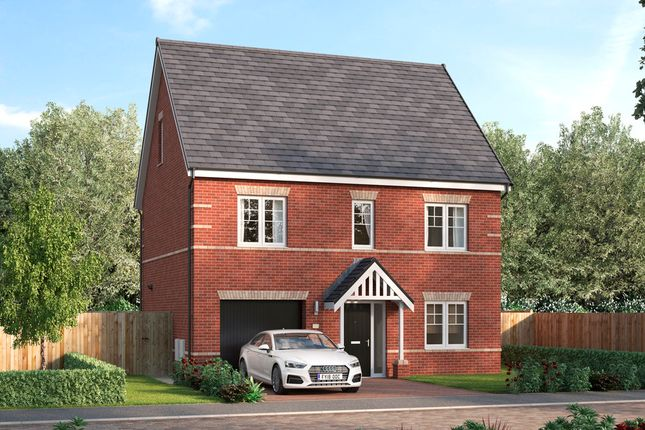 Thumbnail Detached house for sale in Leger Way, Intake, Doncaster