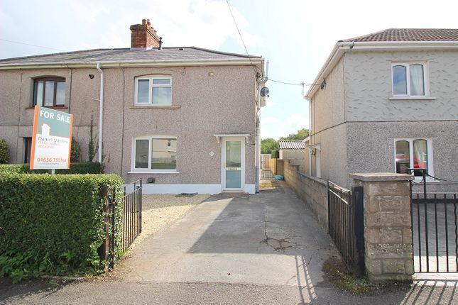 Thumbnail Semi-detached house for sale in Glanyrafon Road, Pencoed, Bridgend.