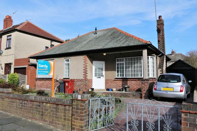 Thumbnail Detached bungalow for sale in Clarence Road, Barrow-In-Furness