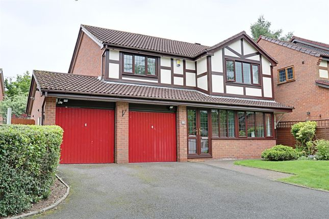 Thumbnail Detached house for sale in Ganton Road, Turnberry, Bloxwich