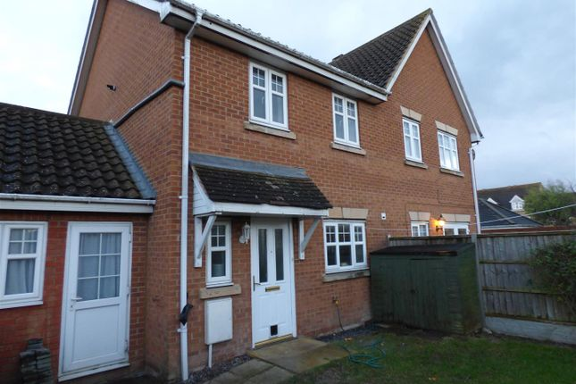 Thumbnail Semi-detached house to rent in French's Gate, Dunstable