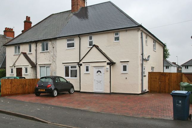 Thumbnail Semi-detached house to rent in Addison Crescent, Oxford