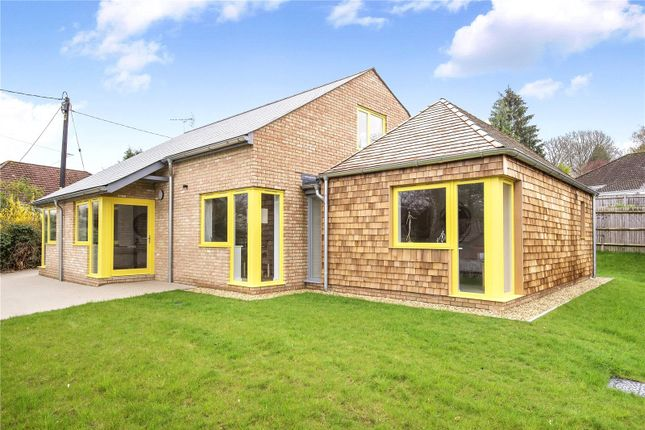 Thumbnail Detached house to rent in Springvale Road, Winchester, Hampshire