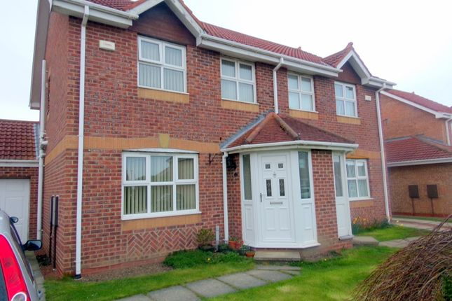 Thumbnail Semi-detached house for sale in Sylvias Close, Amble, Morpeth