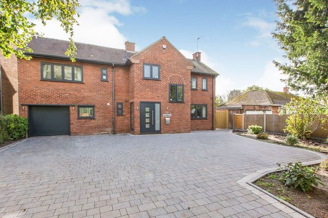 Thumbnail Detached house for sale in Sandbach Road, Congleton, Cheshire