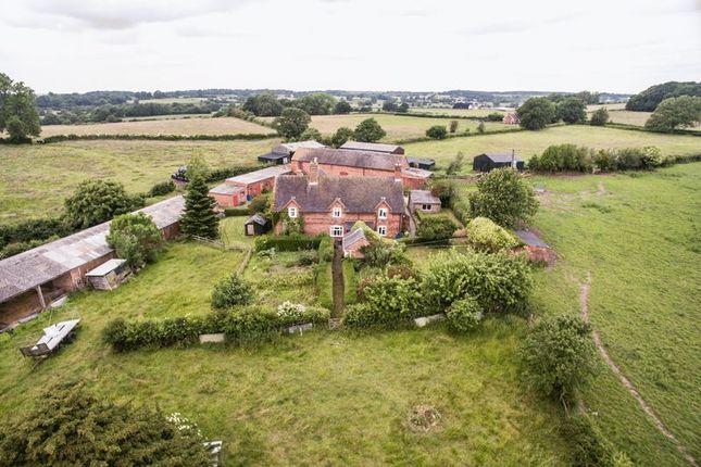 Thumbnail Farmhouse for sale in The Blythe, Stafford