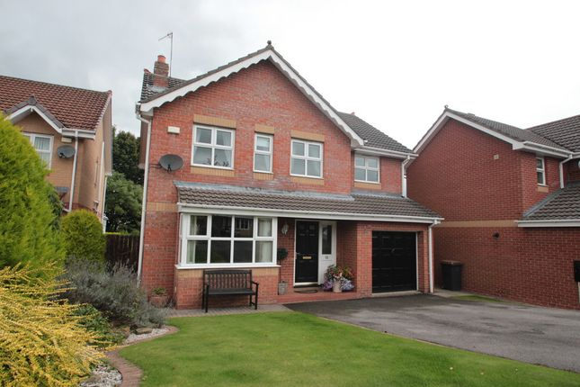 Thumbnail Detached house for sale in Links Drive, Blackhill, Consett