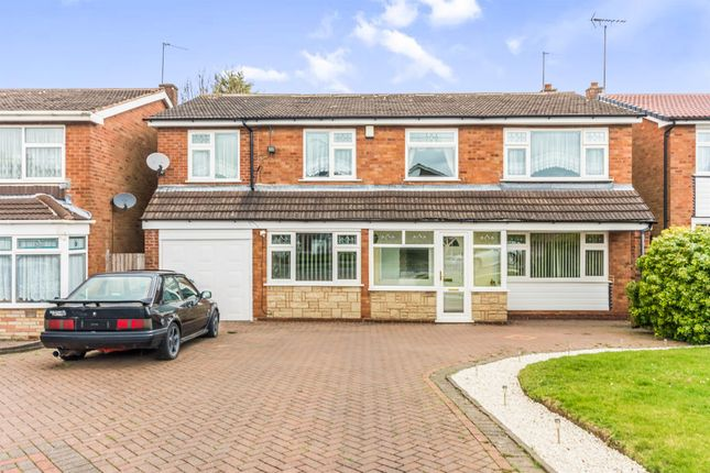 Thumbnail Detached house for sale in Park Hall Road, Walsall