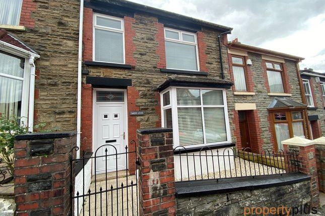 Thumbnail Terraced house for sale in Stuart Street, Treherbert -, Treorchy