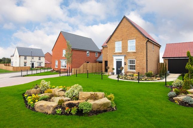 "Thumbnail Detached house for sale in ""Layton"" at Hanzard Drive, Wynyard Business Park, Wynyard, Billingham"