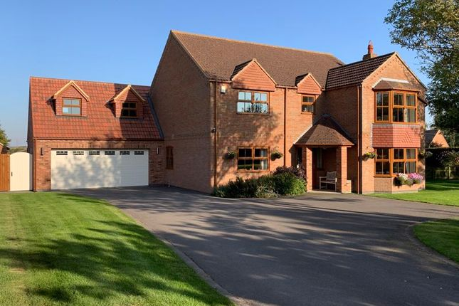 Thumbnail Detached house for sale in Scotterthorpe, Gainsborough