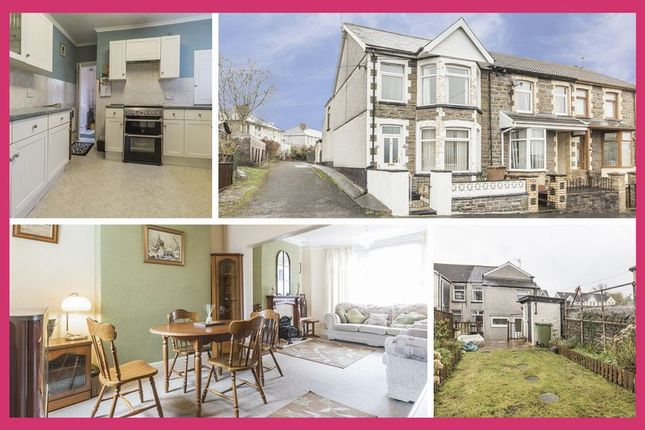Thumbnail End terrace house for sale in Moorland Road, Bargoed