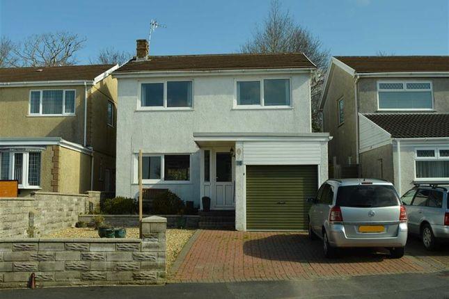 Thumbnail Detached house for sale in Ffordd Talfan, Swansea