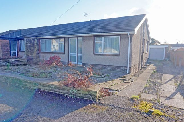 Thumbnail Semi-detached bungalow for sale in Chamberlain Row, Dinas Powys