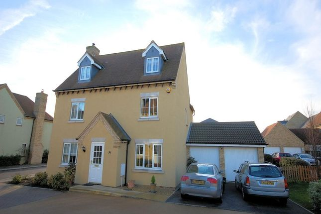 Thumbnail Detached house to rent in Brookfield Way, Lower Cambourne, Cambourne, Cambridge