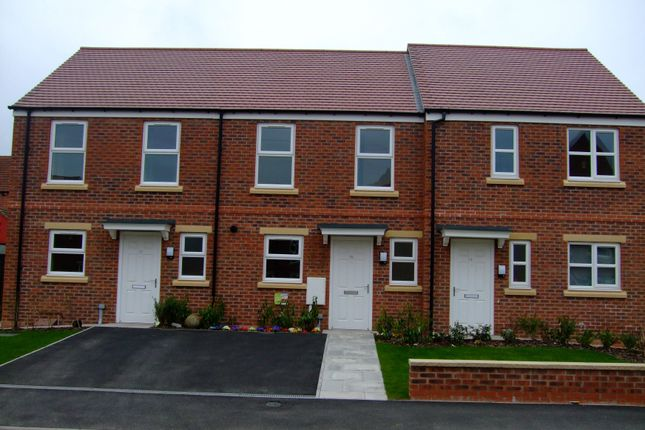 Thumbnail Town house to rent in Church Drive, Shirebrook, Mansfield