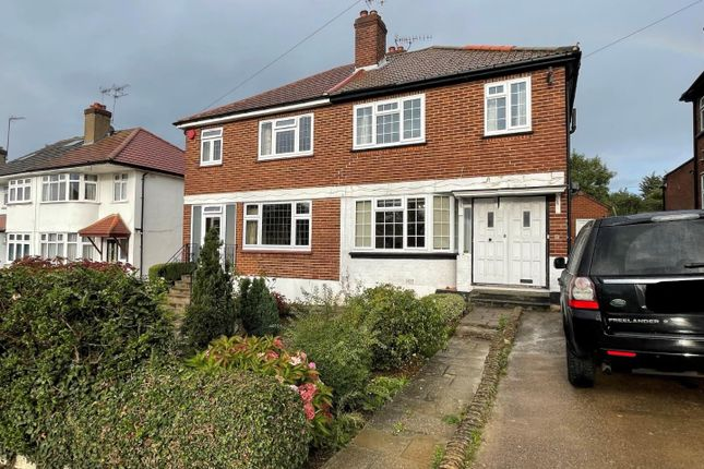 Thumbnail Semi-detached house to rent in Mount Grove, Edgware