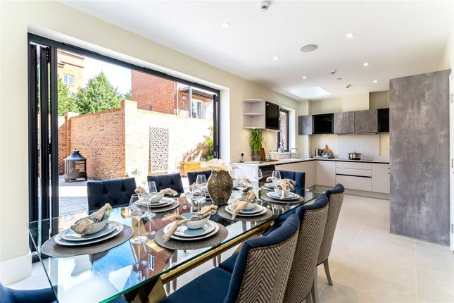 Thumbnail End terrace house for sale in Riverpark Villas, Marlow, Buckinghamshire