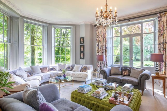 Drawing Room of Duntisbourne Abbots, Cirencester, Gloucestershire GL7