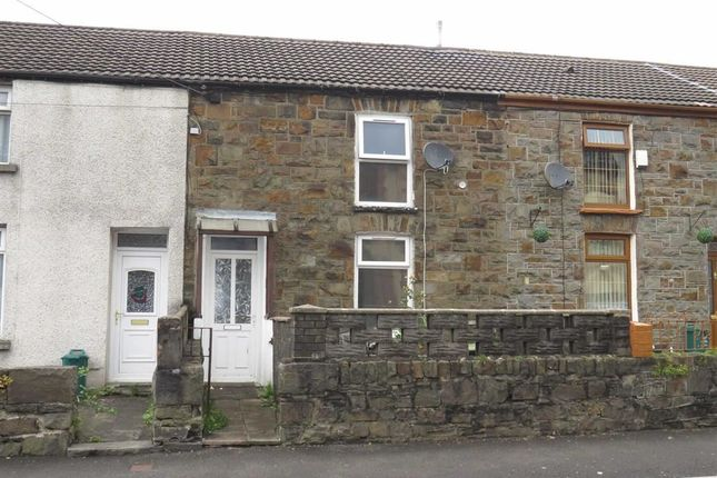 Thumbnail Terraced house to rent in Park Road, Cwmparc, Treorchy