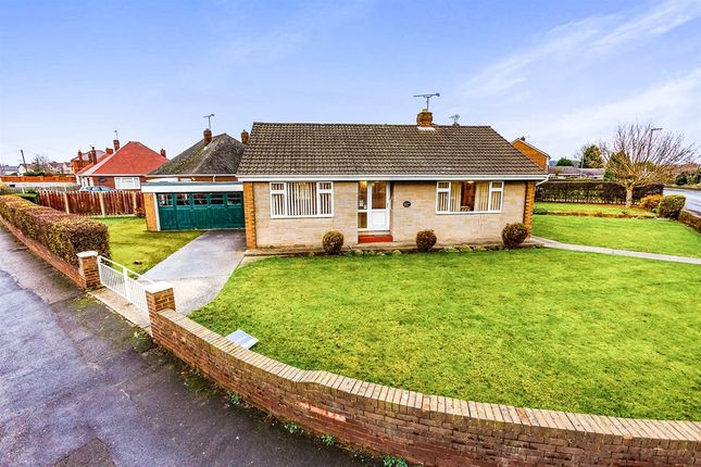 Thumbnail Detached bungalow for sale in Laughton Road, Thurcroft, Rotherham