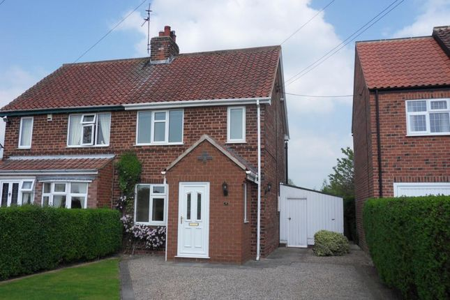 Thumbnail Semi-detached house to rent in Stillington Road, Sutton-On-The-Forest, York