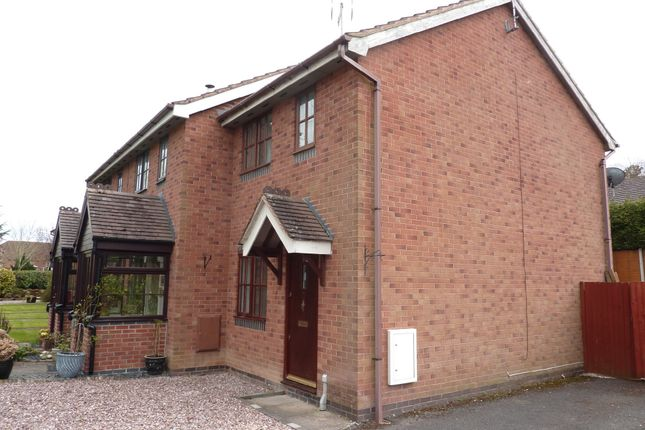 Thumbnail End terrace house to rent in Orchard Drive, West Felton, Oswestry, Shropshire