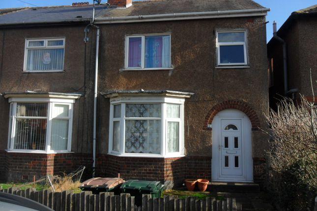 Thumbnail End terrace house to rent in Uxbridge Avenue, Binley