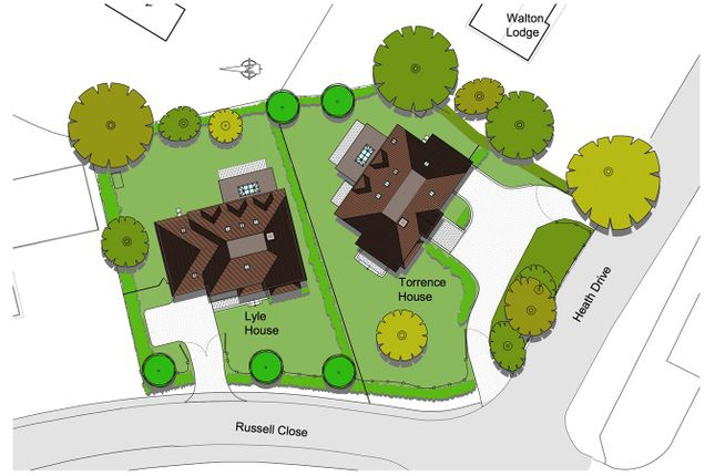 Thumbnail Land for sale in Heath Drive, Walton On The Hill