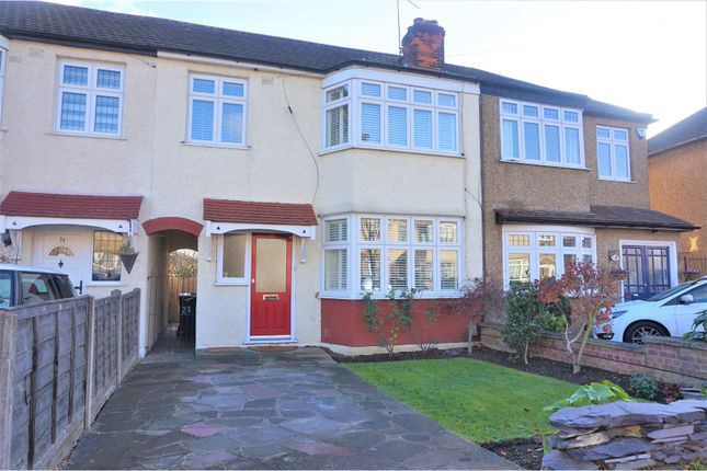 Thumbnail Terraced house for sale in Carnarvon Avenue, Enfield