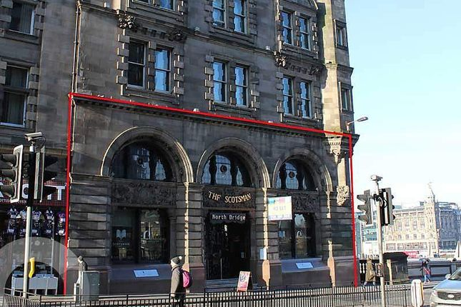 Thumbnail Retail premises to let in North Bridge, Edinburgh