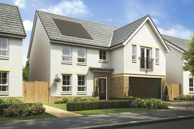 "Thumbnail Detached house for sale in ""Colville"" at Malletsheugh Road, Newton Mearns, Glasgow"